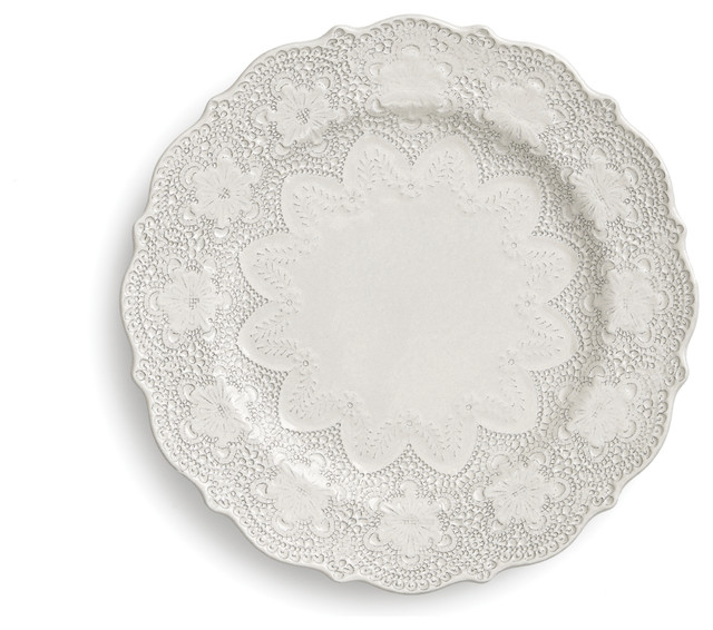 Merletto Antique Dinner Plate - Traditional - Dinner Plates - by ...