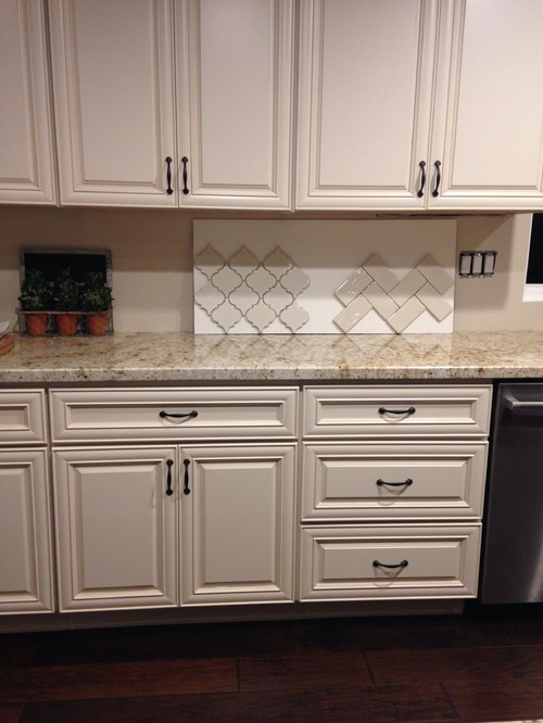 I Need Help Choosing Which Backsplash Design For This Kitchen. Herringbone  Or Arabesque?