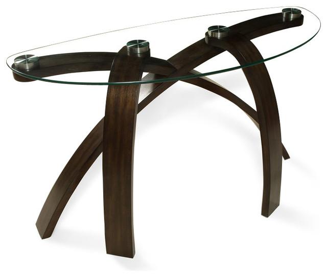 Magnussen Allure Demilune Sofa Table