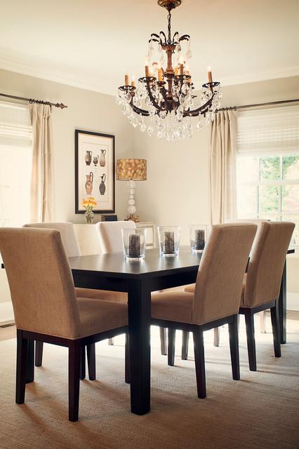 Davis Residence traditional-dining-room