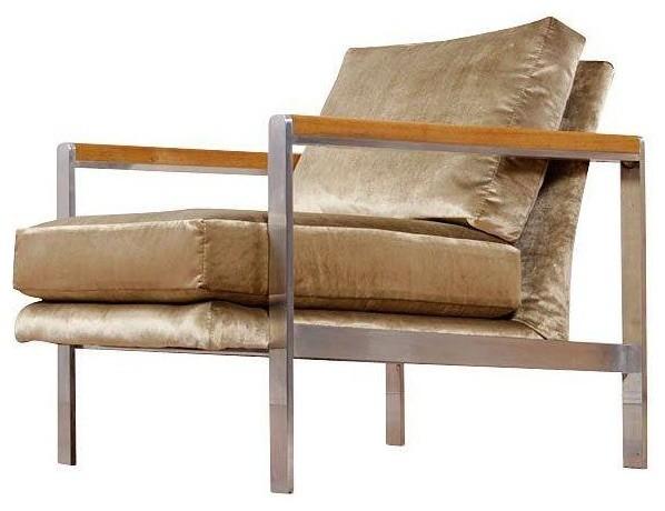 Restored Mid Century Modern Drexel Lounge Chair Modern Living