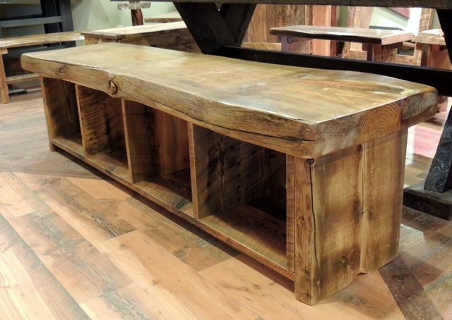Barnwood Dining Room Furniture rustic-dining-benches - Barnwood Dining Room Furniture