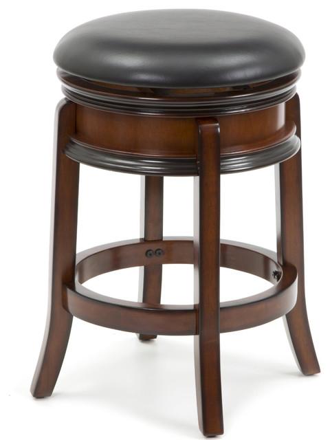 24 Quot Swivel French Leg Bar Stool Traditional Bar Stools