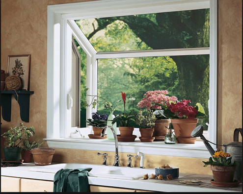 Garden Window In The Kitchen: The Right Height?