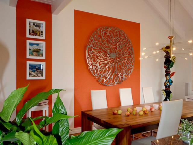 Wandschmuck modern frankfurt am main von sabine a - Wandschmuck wohnzimmer ...