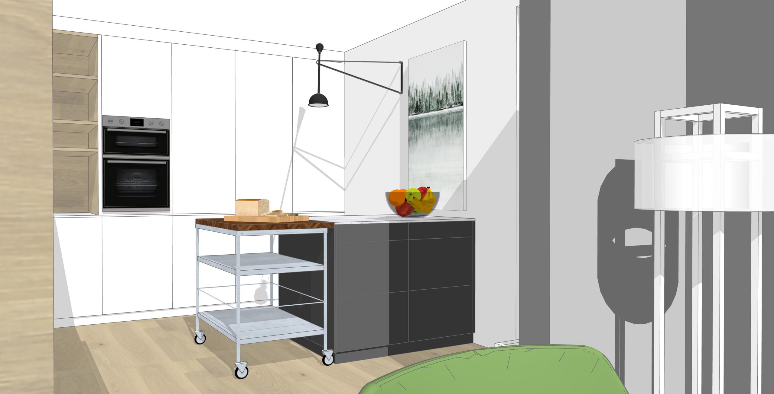 3D Visu Küche