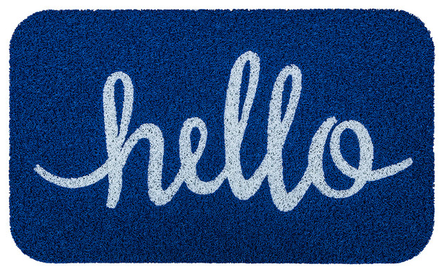 Simply Hello contemporary-doormats