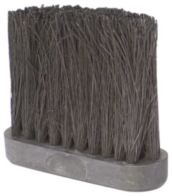 4 In Tampico Fireplace Broom Replacement Brush Head.