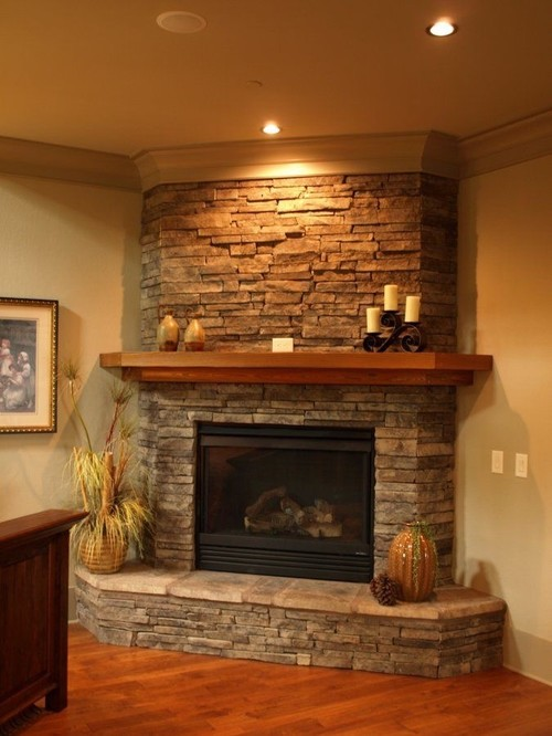 crown molding fireplace.  Creating a fireplace