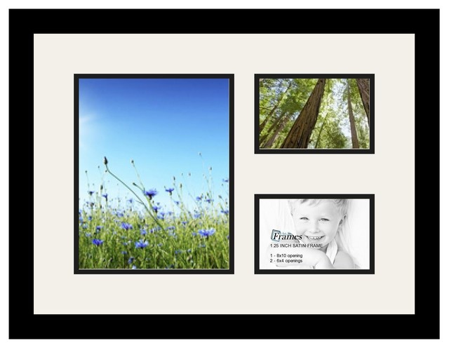 Arttoframes Collage Photo Frame With 3 Openings