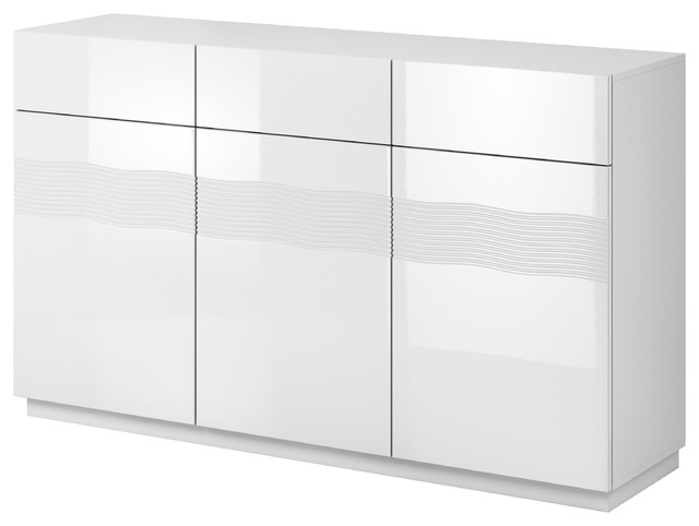 Alabaster Sideboard White Gloss.