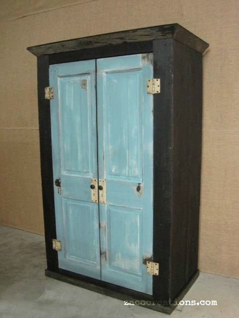 Reclaimed Wood Furniture & Decor by Tenpenny House armoires-and-wardrobes - Reclaimed Wood Furniture & Decor By Tenpenny House
