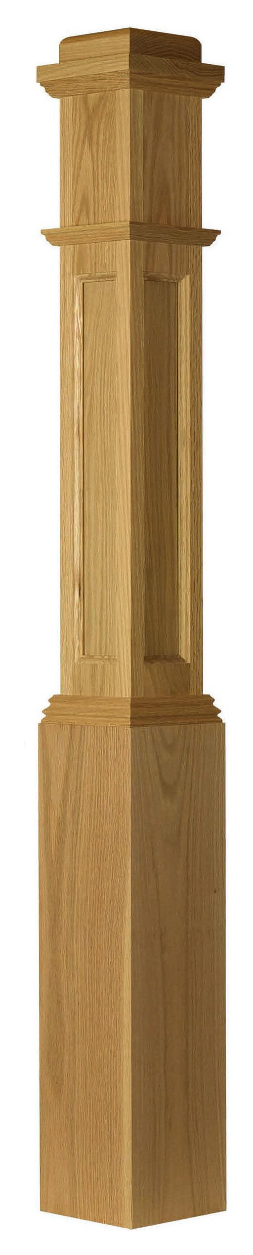Is The Flat Panel Walnut Newel Made Of Solid Walnut