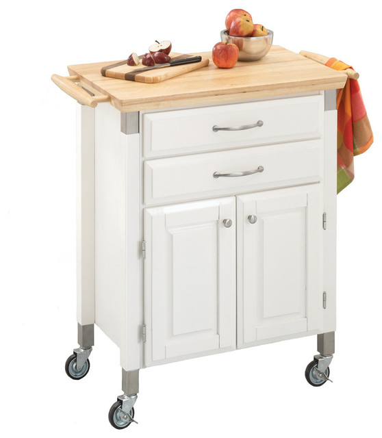 Dolly Kitchen Cart, White.
