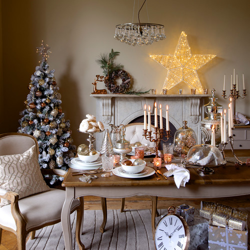 9 Christmas Table Decorations Ideas From Scandi Chic To