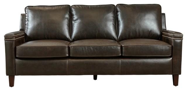 Lazzaro Leather Magnus Sofa.