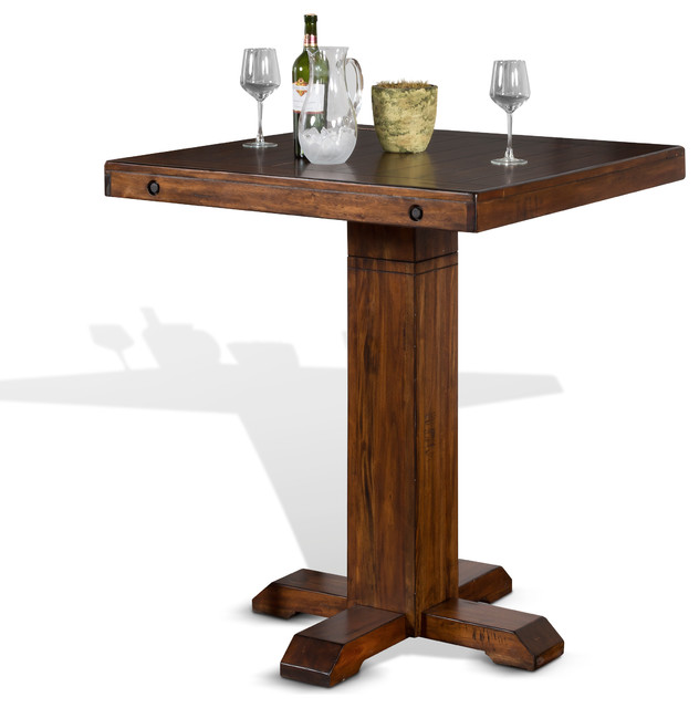 Tuscany Pub Table With Adjustable Height