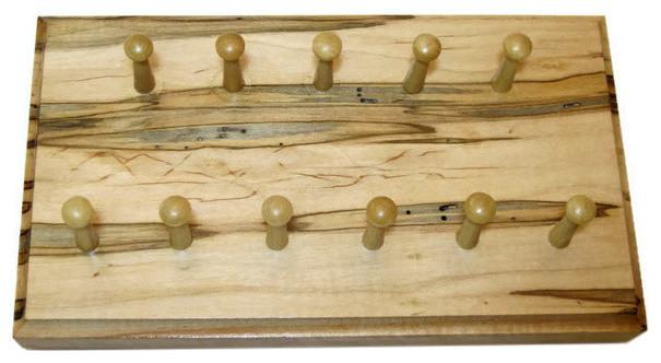 Rustic Wood Wall Key Holder - Rustic - Wall Organizers - by ...
