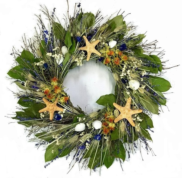 Big Sur Beach Wreath.