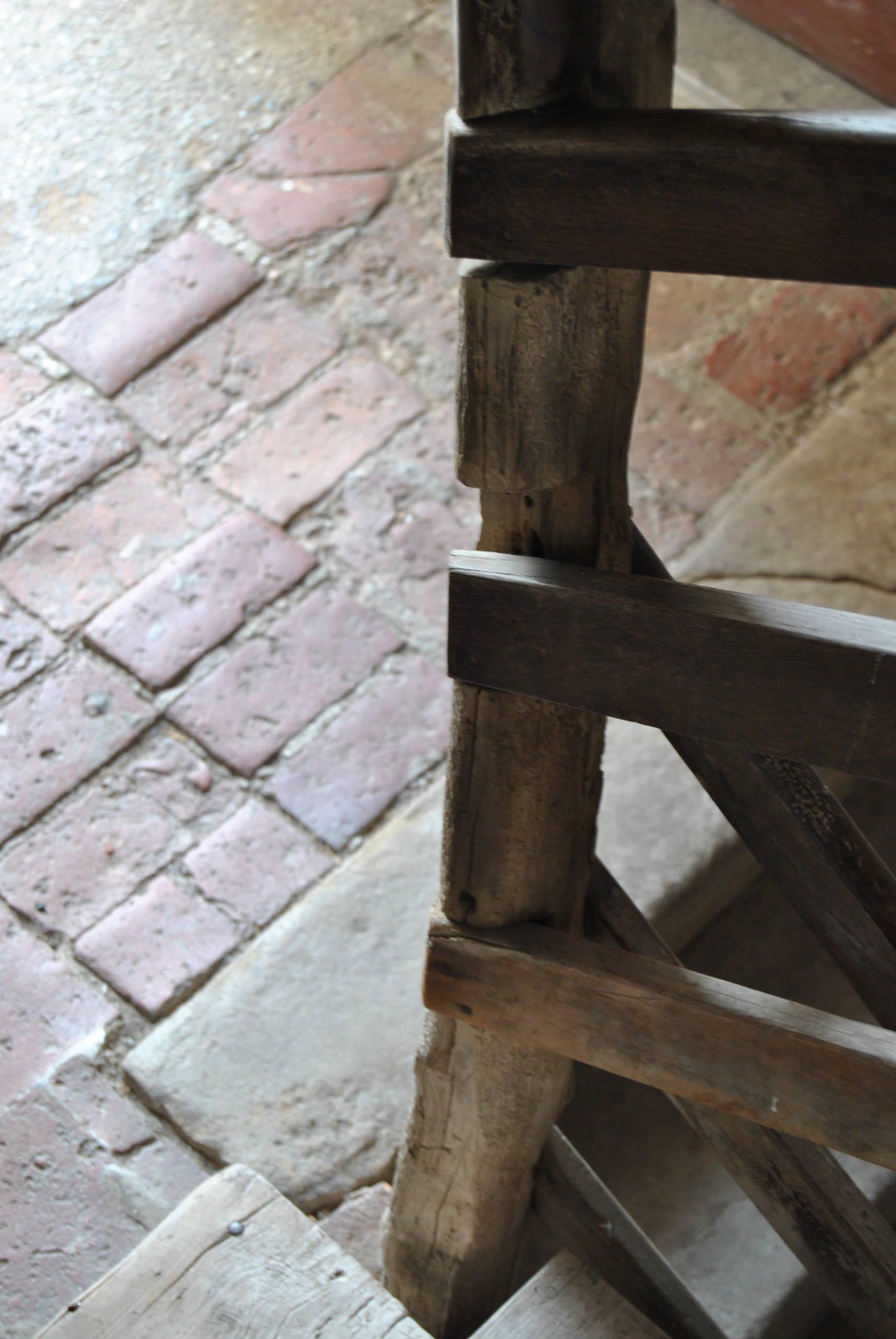 Dettaglio delle scale condominiali.