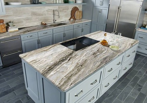 Marble countertops that are kid friendly
