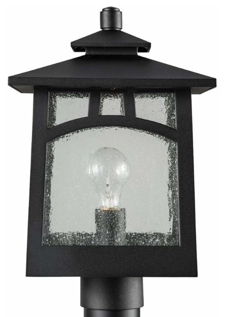 Park Harbor Phel1103 Carytown 1 Light Outdoor Post Light Transitional Post Lights By Buildcom