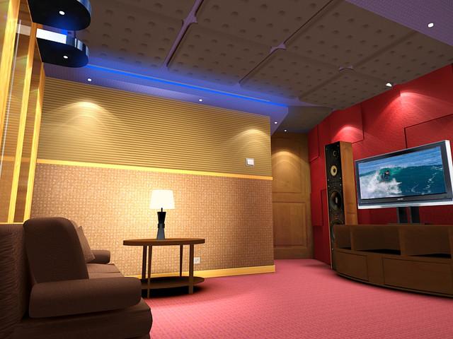 Karaoke room for Living room karaoke