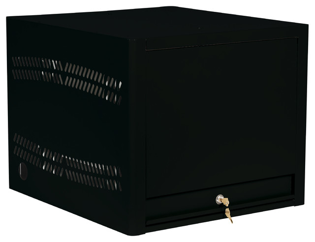 Laptop Depot With 8 Capacity Unit, Black.