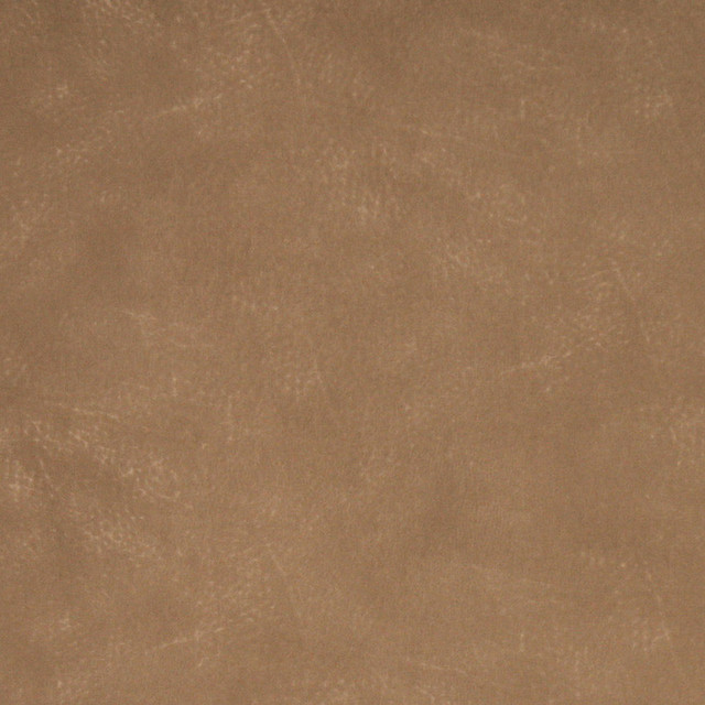 Tan Solid Textured Microfiber Stain Resistant Upholstery