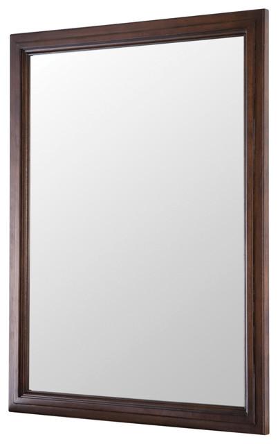 Georgette 23 Walnut Mirror.