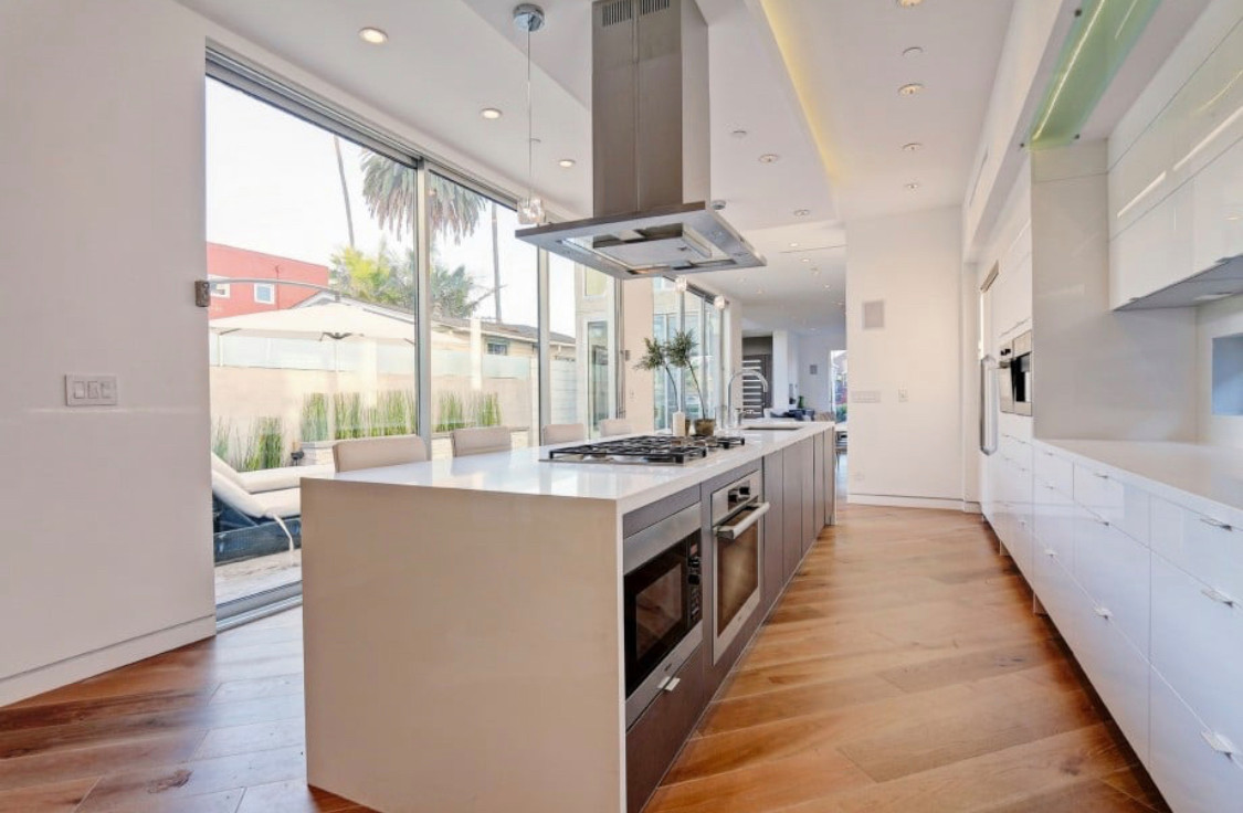Kitchen remodel in Los Angeles