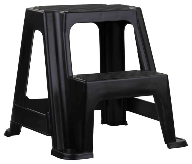 Fine Home Basics 2 Step Plastic Step Stool Cjindustries Chair Design For Home Cjindustriesco