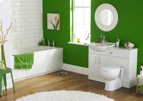 Ванная комната дизайн плитка и покраска