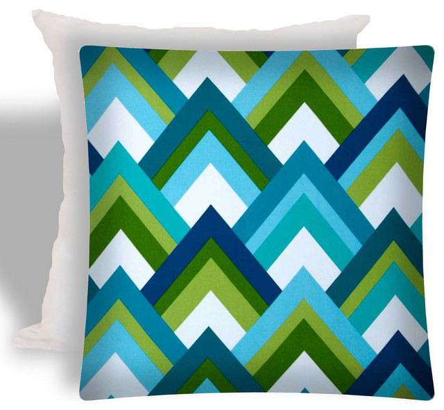 Cool Indoor Outdoor Zippered Pillow Covers Set Of 2 Contemporary Cushions And Pillows By Joita