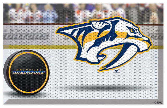 Fanmats Nashville Predators Home Floor Mat View In