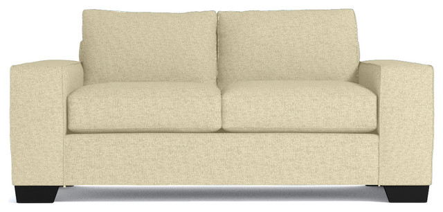melrose apartment size sleeper sofa bisque transitional