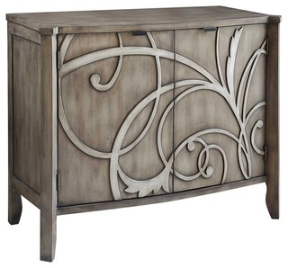Earley 2-Door Cabinet - Contemporary - Accent Chests And Cabinets - by jeff s brookins