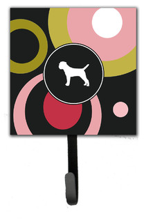 Border Terrier Leash Holder/Key Hook - Contemporary - Wall Hooks - by the-store