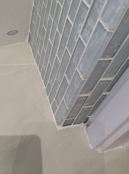 Marble Tile Baseboards Look Unfinished