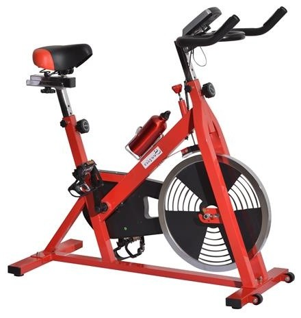 Upright Stationary Exercise Cycling Bike With Lcd Monitor