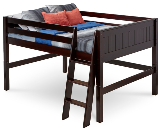 Plymouth Loft Bed Full Contemporary Kids Beds By