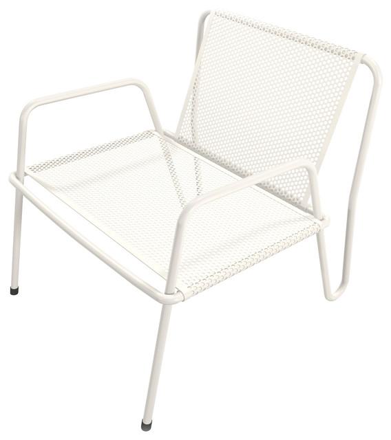 altamira lounge chair white