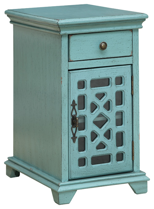 One-Drawer One-Door Chairside Cabinet