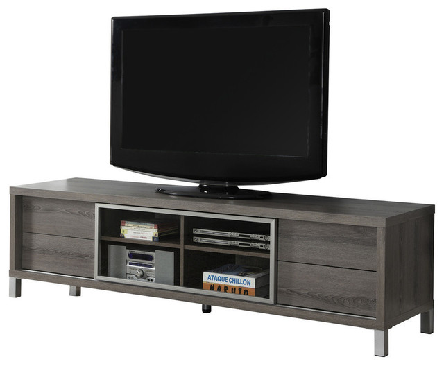 Tv Stand, Taupe.