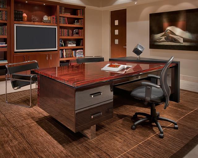Elegant Custom Desk Design