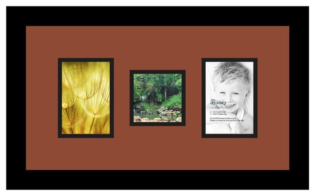 0303c2d9a91 ArtToFrames Collage Photo Frame with 3 Openings - Contemporary - Picture  Frames - by ArtToFrames