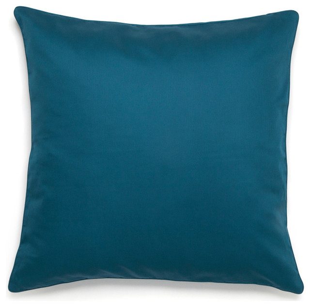 Amy Sia Midnight Storm European Square Teal Sham