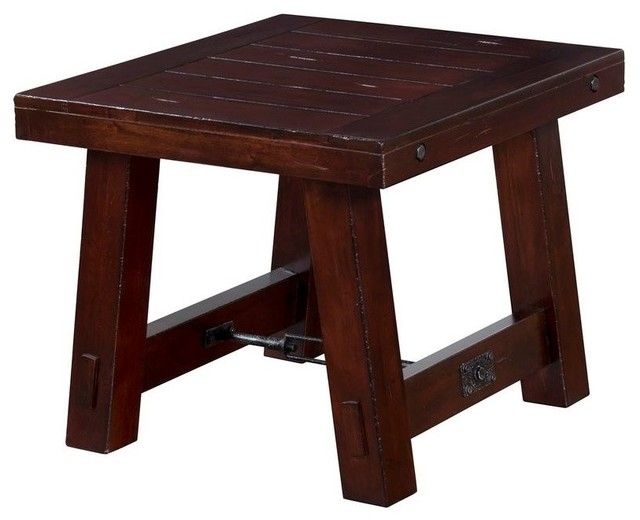 Vineyard End Table Transitional Coffee Tables