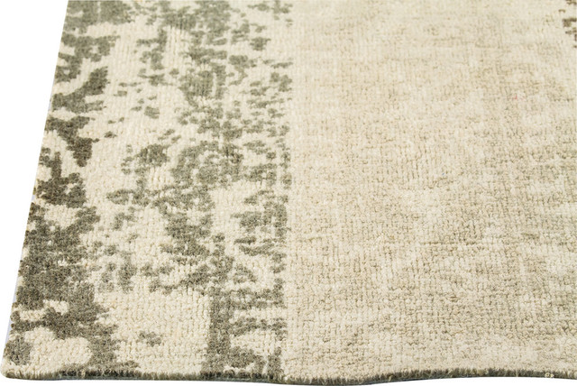 Madison Rug Silver Beige 2 X3 Contemporary Area
