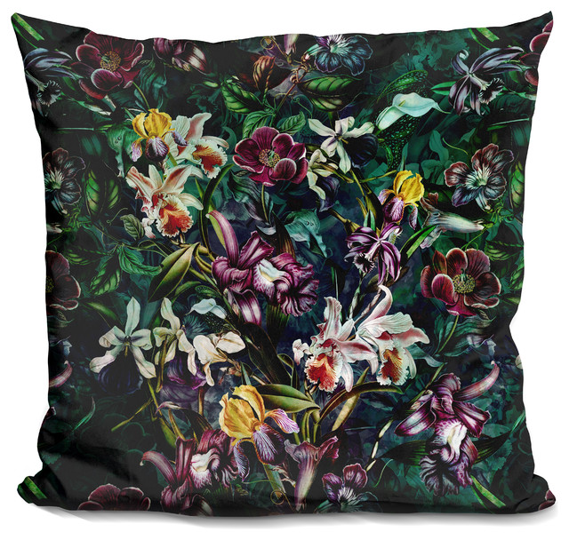 Secret Garden Decorative Accent Throw Pillow.